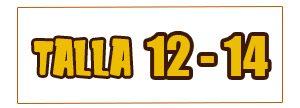 Talla 12 Y 14